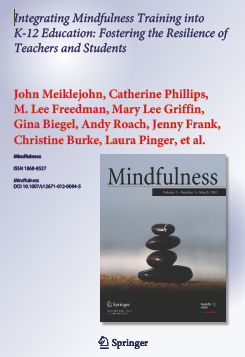 Integrating Mindfulness K-12 downloadable article
